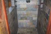 custom slate shower