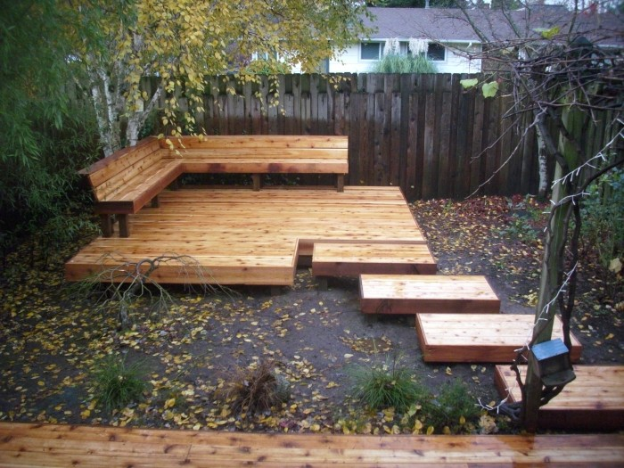... bench japanese cedar deck with bench japanese cedar deck with bench