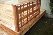 Custom cedar lattice