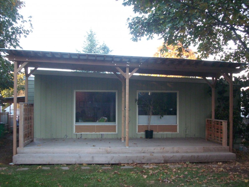 Corrugated Metal Deck Roof Corrugated Patio Cover Deck