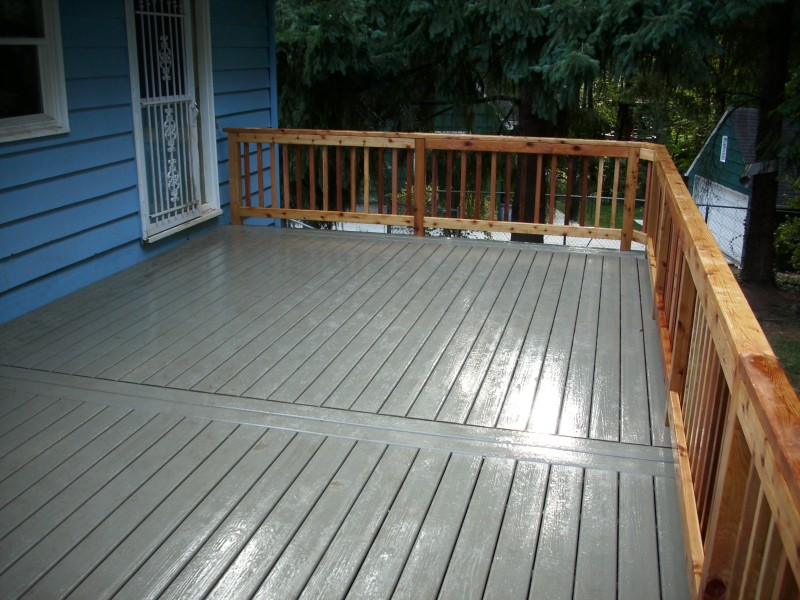 how to clean composite decking with bleach